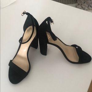 Vince Camuto Black Heeled Sandals